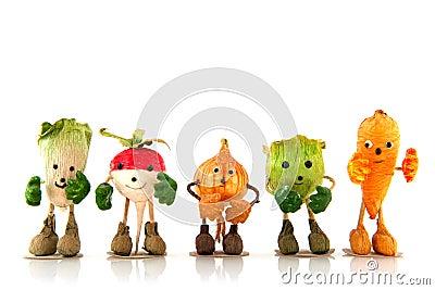 Walking vegetables