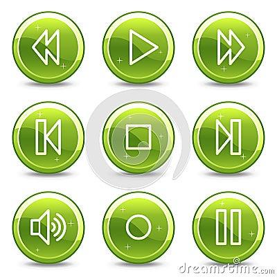 Walkman web icons