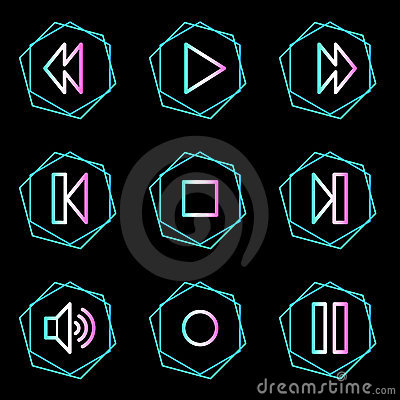 Walkman web icons