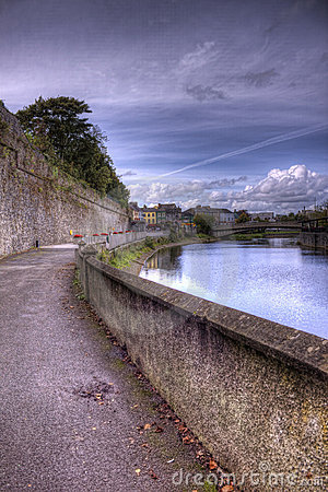 Walkway along the River Nore