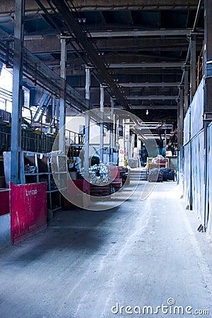 Walkway in factory