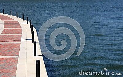 Walkway on the lake