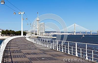 Walkway Lisbon expo  98