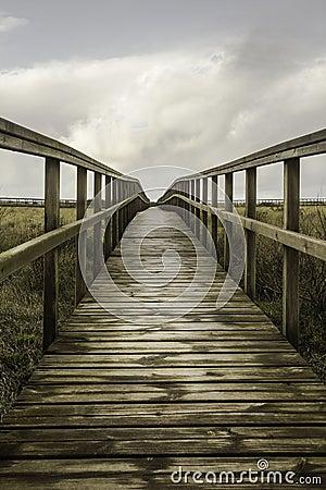 Walkway to the beach of San Juan