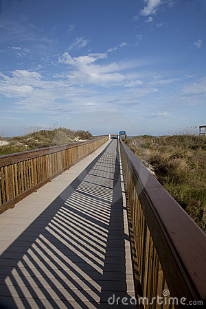 Walkway to Beach, St. Augustine, Florida