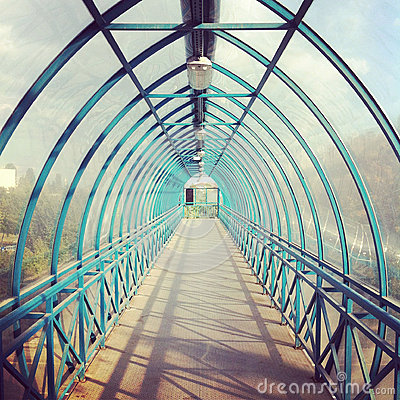 Free Walkway Tunnel Stock Photo - 27725780