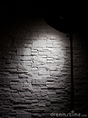 Free Wall And Lamp Royalty Free Stock Photo - 30485515
