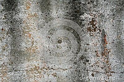 Wall background damaged