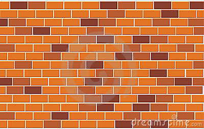 Wall of capacity brick