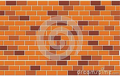 Wall of capacity brick
