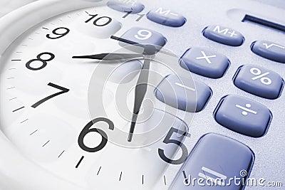 Wall Clock and Calculator