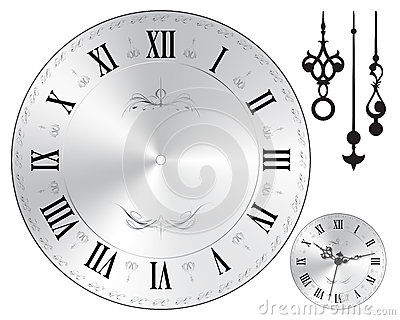 Wall Clock Face Royalty Free Photos Image 35218998 – Clock Face Template
