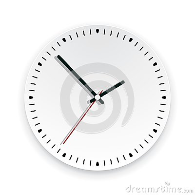 Free Wall Clock Face. Vector  Royalty Free Stock Images - 106323519