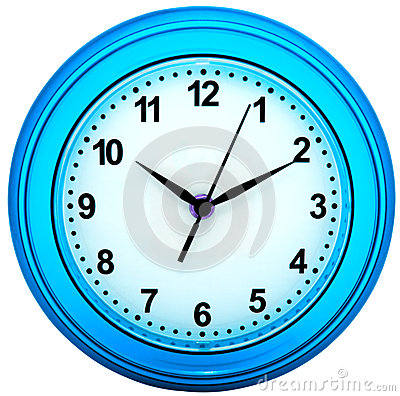Wall clock isolated