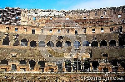 Wall of Coliseum