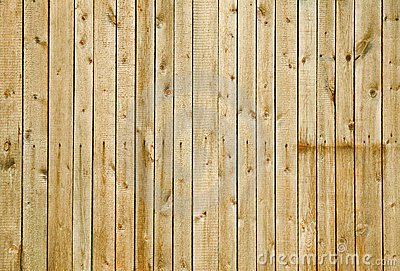 Wall covered with boards - wooden background