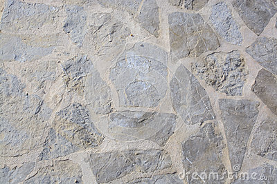 Wall with edgy rocks background