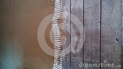 Wall Insulation Stock Photo