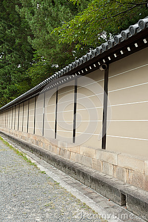 Wall in Kyoto