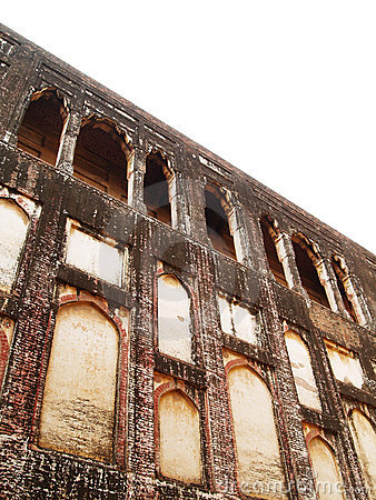 Wall at Lahore Fort