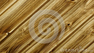 Wall made of wood