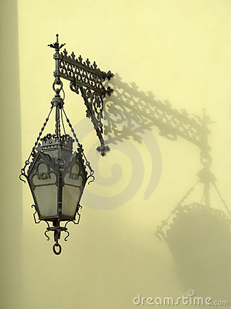 Free Wall-mounted Lantern Stock Photo - 11889550