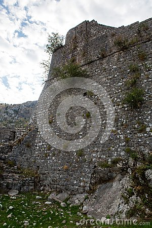 Free Wall Of An Old Stone Fortress Stock Photography - 110401942