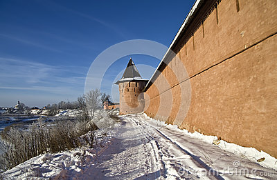 Wall of the old monastery.