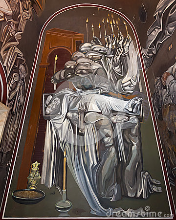 Wall Painting in Tsarevets Church