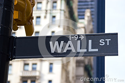 Wall St. Sign, NYC