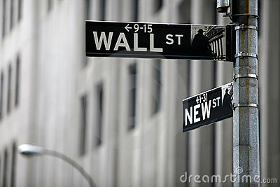 Wall street Editorial Image