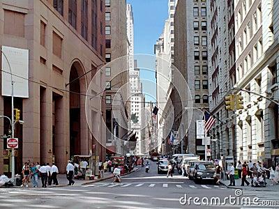 Wall Street Manhattan New York USA