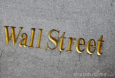 Wall Street in New York City Editorial Image