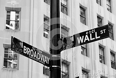 Wall Street, New York Financial Centre