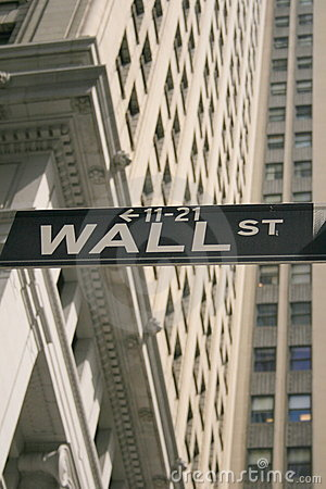 Free Wall Street Shuffle Stock Image - 5187201