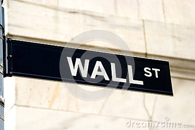 Wall Street Sign, NYC