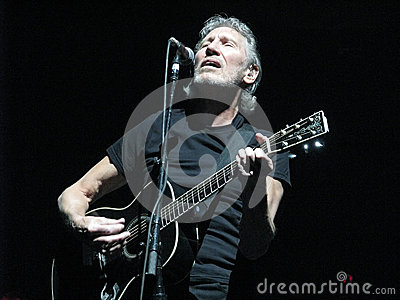 Roger Waters (Former member of Pink Floyd) Editorial Stock Photo
