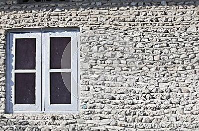 Wall with window
