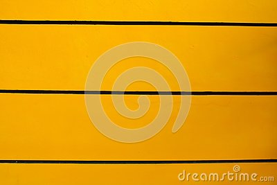 The wall, yellow, black.