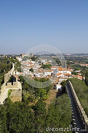 Walled town, Óbidos