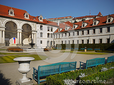 Wallenstain Palace Garden Landmark Czech
