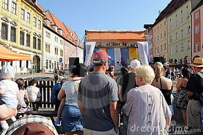 Wallenstein festivities Editorial Image