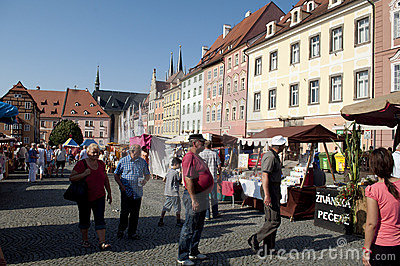 Wallenstein festivities Editorial Stock Image