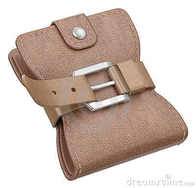 Wallet with belt