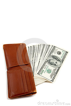 Free Wallet Full Of Money Royalty Free Stock Photo - 11552395