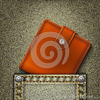 wallet in pocket.