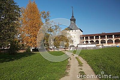 Walling of Kirillo-Belozerskij monastery, Russia
