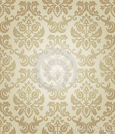 Wallpaper beige flow