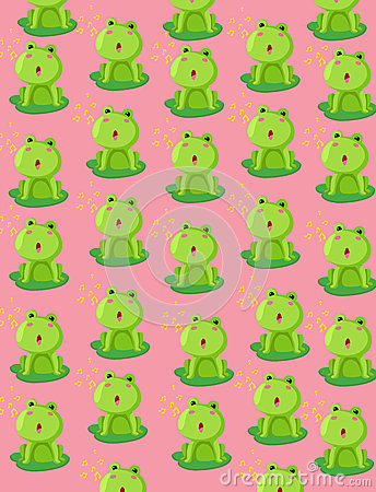 Wallpaper cute frog