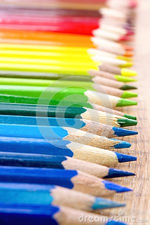 Free Wallpaper For Creative People. Different Colored Pencils For Art. Back To School. Royalty Free Stock Photography - 104056337
